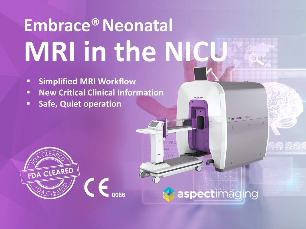 Embrace Neonatal MRI System Receives CE Mark