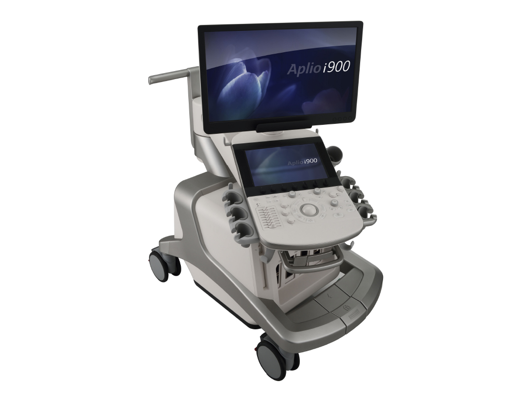 Cannon Medical Systems New Aplio i900 Premium Cardiovascular Ultrasound Imaging System