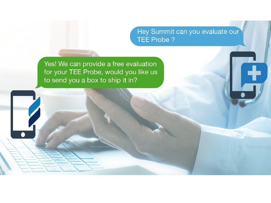 Summit Imaging Announces Text Support Service