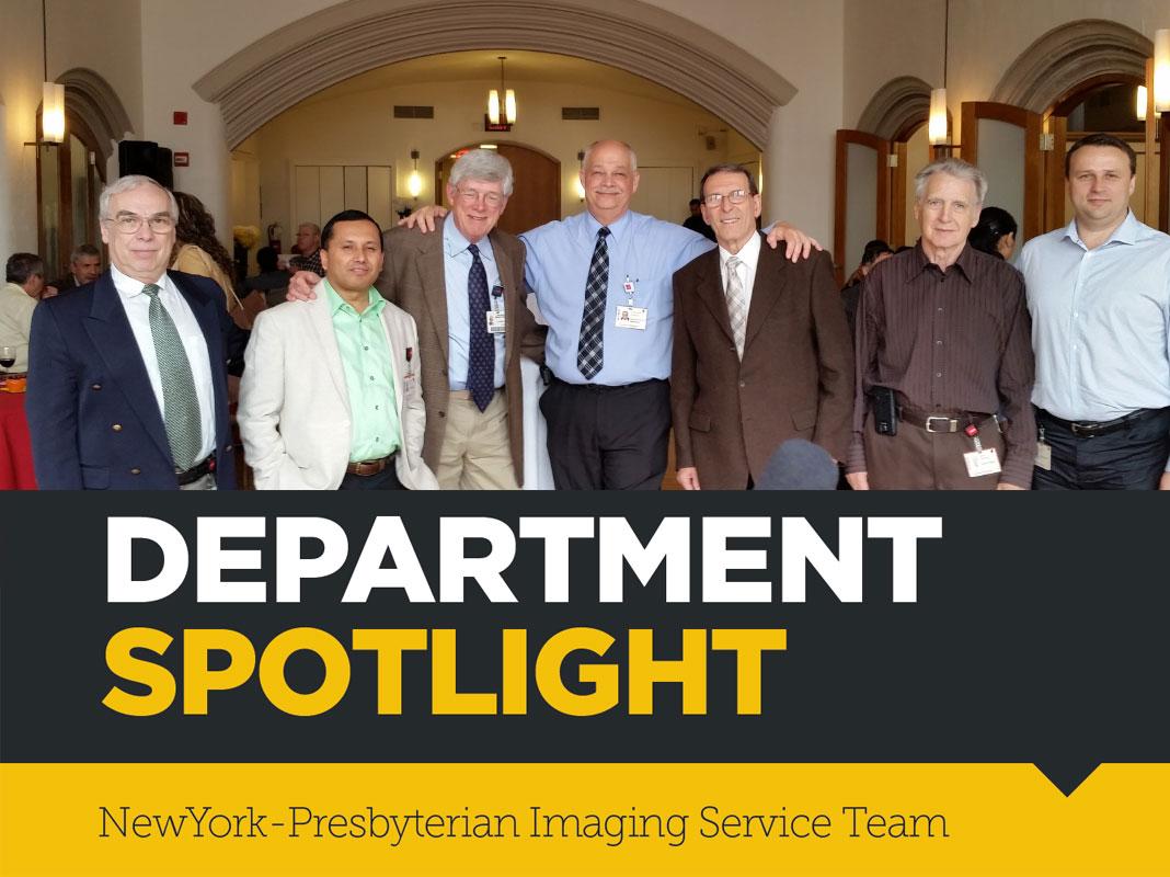 Department Spotlight: NewYork-Presbyterian Imaging Service Team
