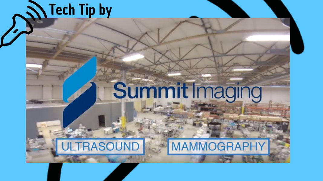 [Sponsored] Tech Tip #1 from Summit Imaging