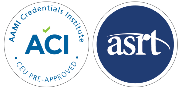 ACI and ASRT Approve ICE Education