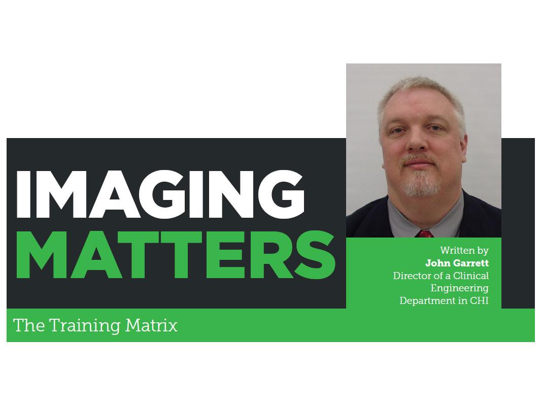 Imaging Matters: The Training Matrix