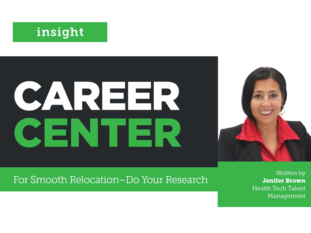 Career Center: For Smooth Relocation – Do Your Research