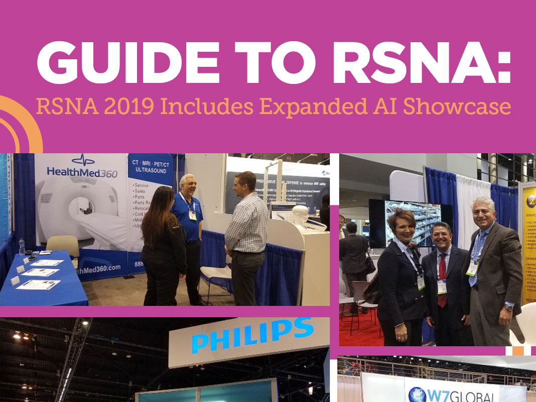 Guide to RSNA: RSNA 2019 Includes Expanded AI Showcase