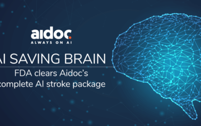 FDA Clears Aidoc's Complete AI Stroke Package