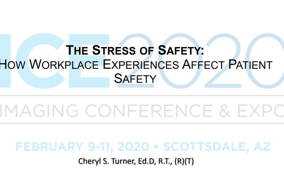 The Stress of Safety: How workplace experiences affect patient safety