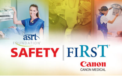 ASRT Foundation and Canon Medical Safety FiRsT Grant Program