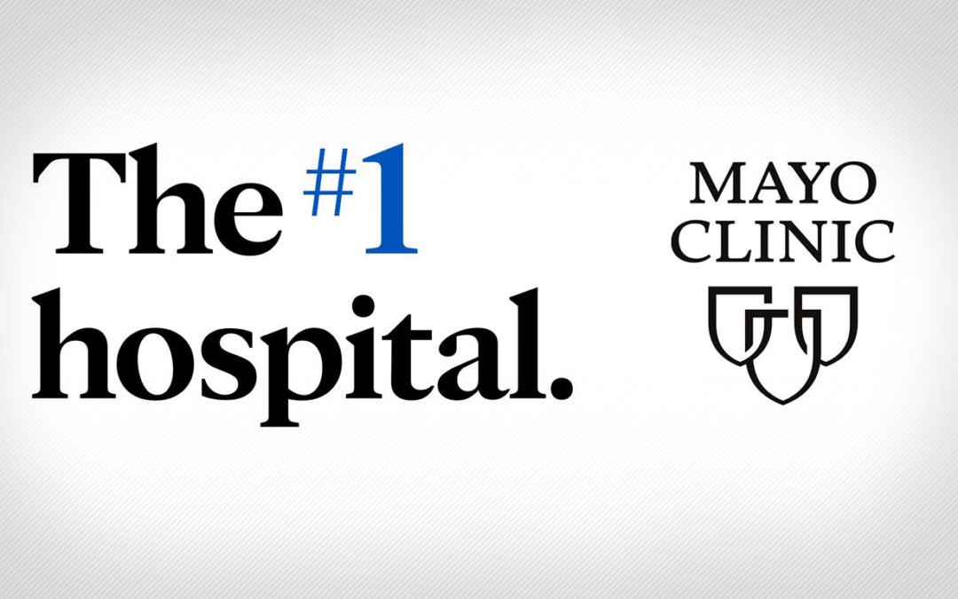 Mayo Clinic is No. 1 U.S. Hospital, says U.S. News & World Report