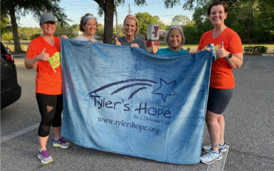 Tyler's Virtual Run for Hope