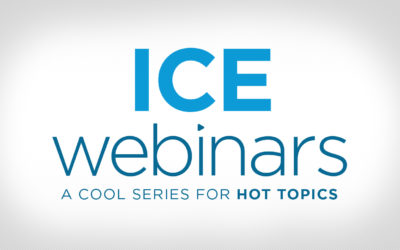 ICE Announces Informative Webinars, CE Credits