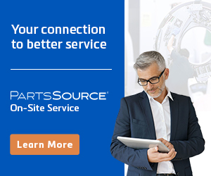 BREAKING NEWS: PartsSource Provides On-demand Network of Hospital Equipment Service Providers