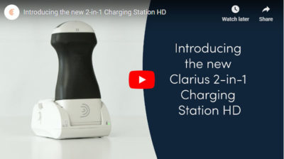 Clarius 2-in-1 Charging Station HD