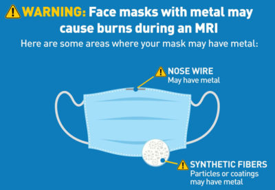 FDA: Wear Face Masks with No Metal During MRI Exams