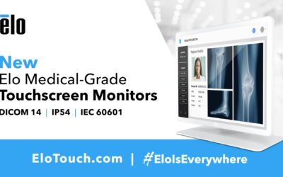Elo Introduces DICOM-Compliant Touchscreen Displays