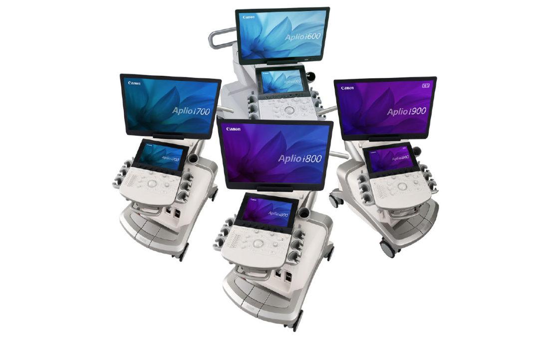 Canon Medical Systems USA Aplio i-Series and Aplio a-series
