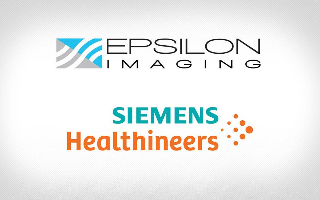 Epsilon Imaging Partners with Siemens Healthineers