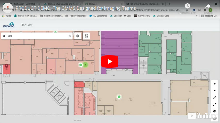 PRODUCT DEMO: The CMMS Designed for Imaging Teams