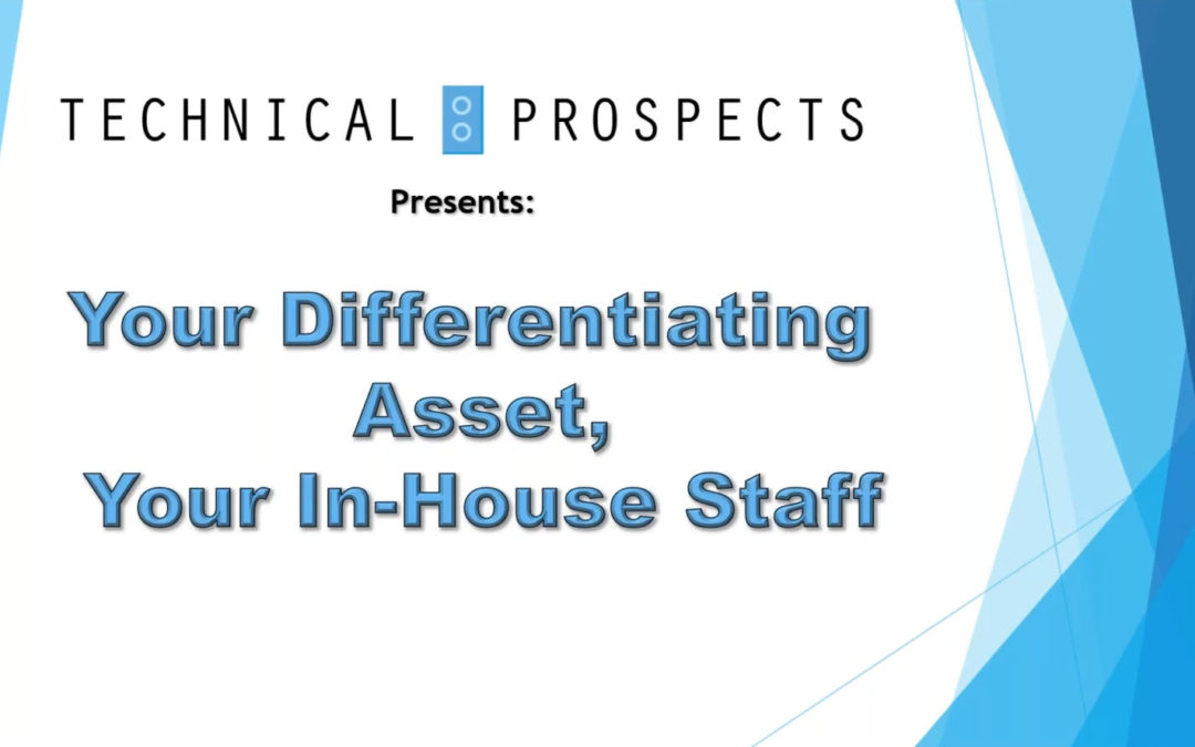 Webinar: In-House Staff Among Most Valuable Assets