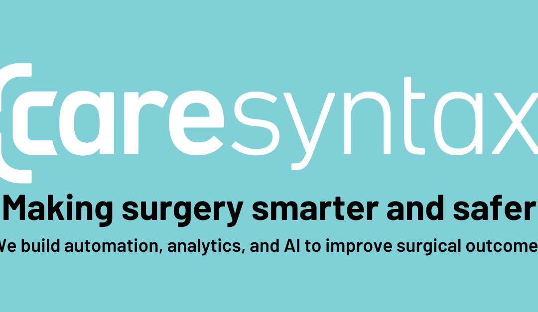 Caresyntax Hires Chief Strategy Officer, Joins AdvaMed