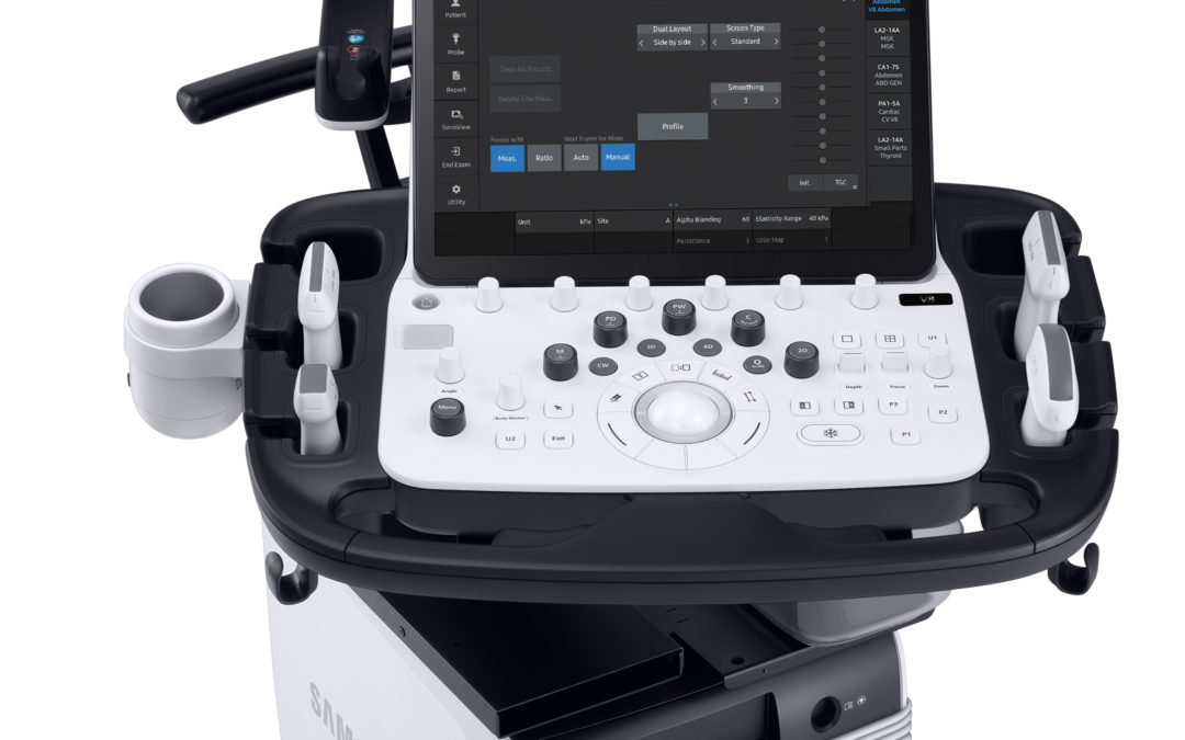 Samsung Introduces New High-End Ultrasound System